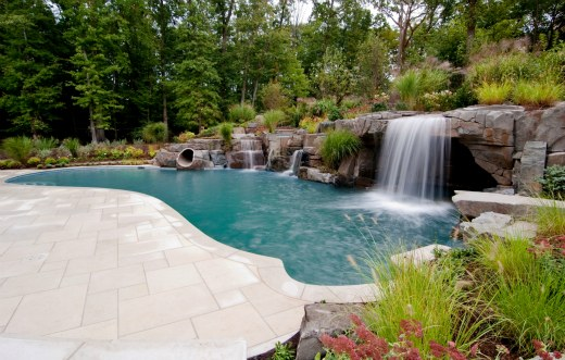Luxury pool in new jersey wins award luxeinacity for Cipriano landscape design