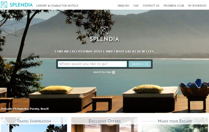 Top 10 luxury boutique hotel websites luxeinacity for Top luxury boutique hotels