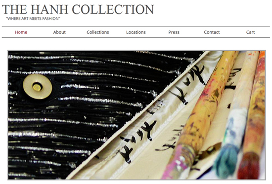THe Hanh Collection Website